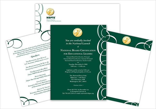 free corporate invitation