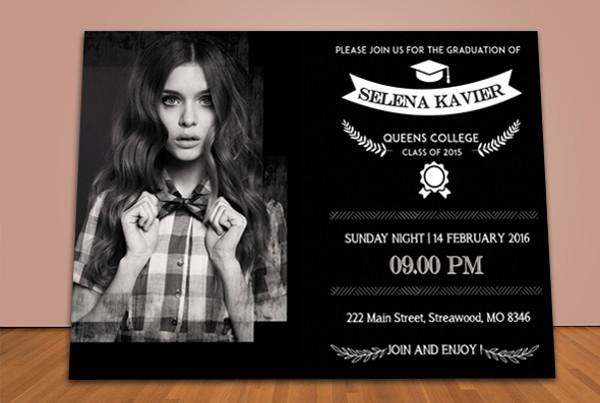 free graduation party invitation