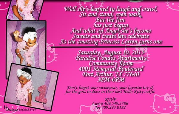 free printable kitty party invitation