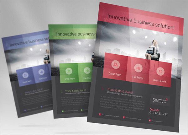 free professional business flyer