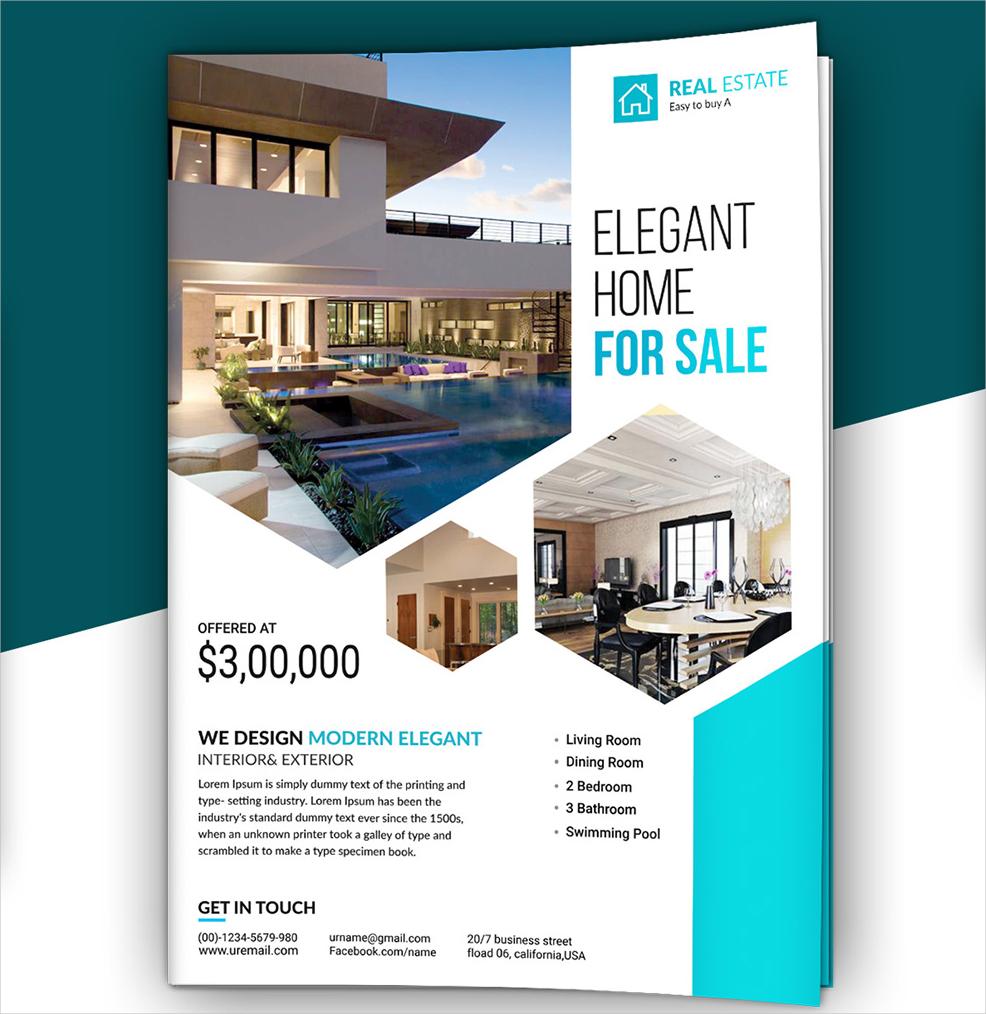 free real estate advertising brochure
