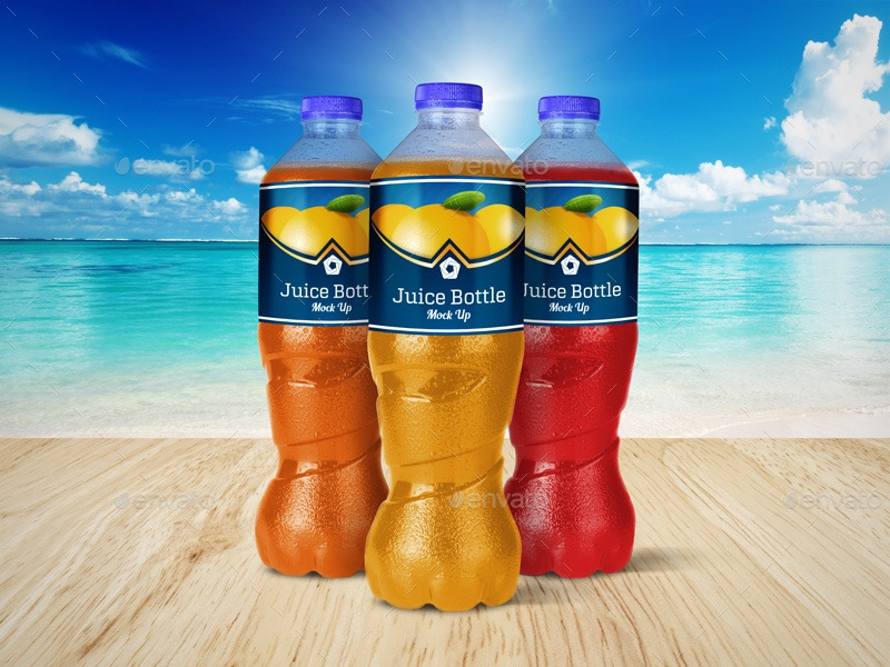 frozen juice bottle label1