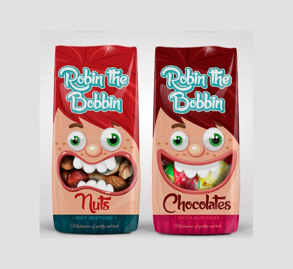 fruit candy packaging design