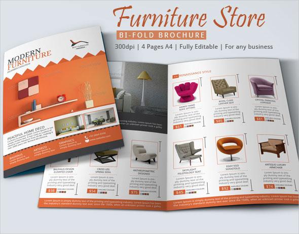 furniture shop brochure