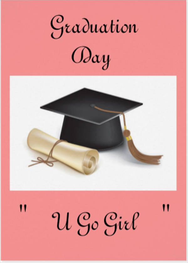 graduation day greeting card