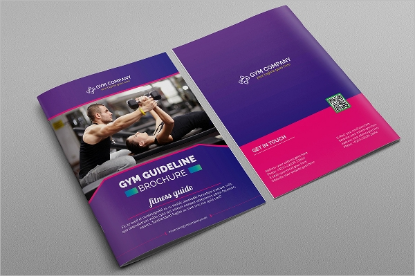gym guidelines brochure