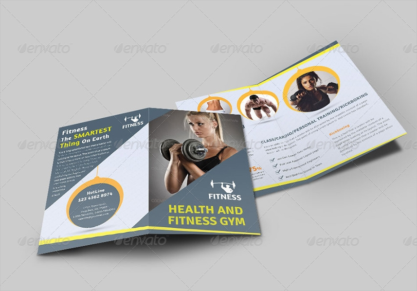 health and fitness bi fold