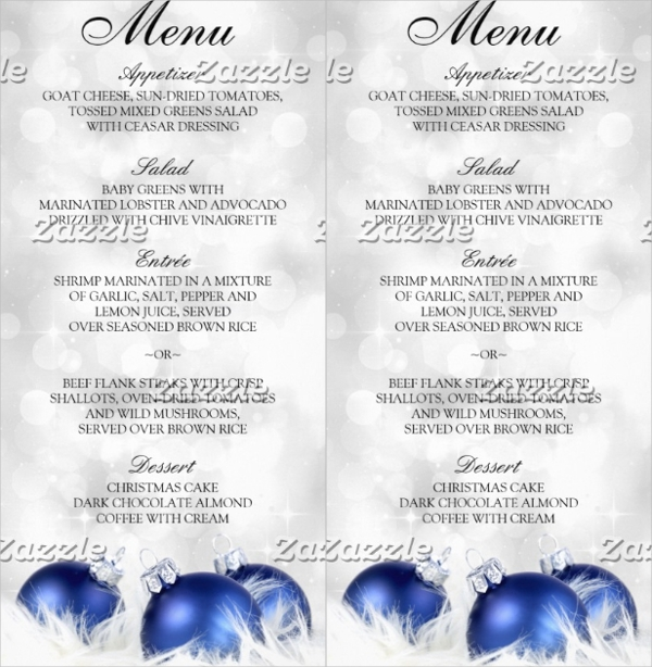 23+ Event Menu Templates