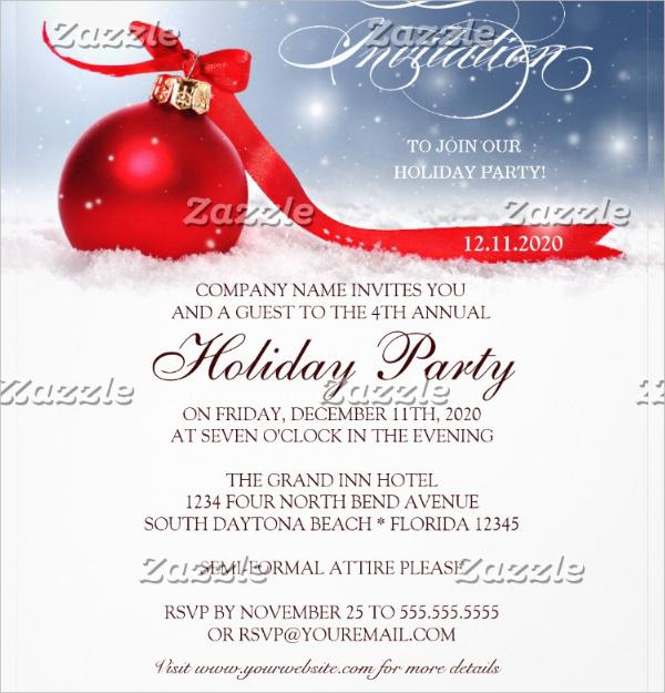holiday event invitation1