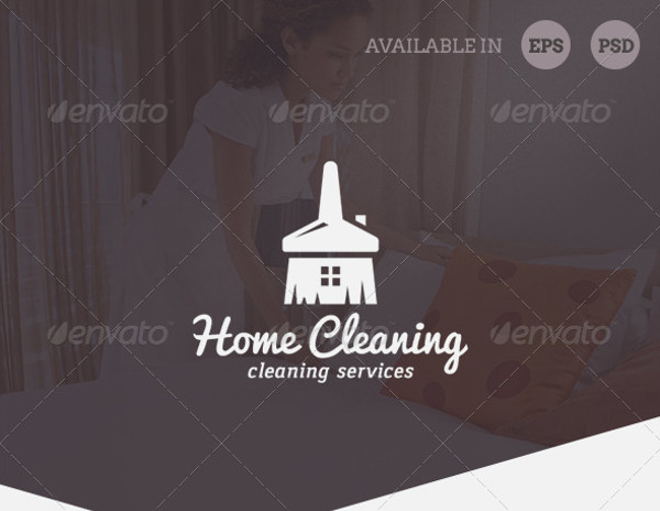 home cleaning business logo