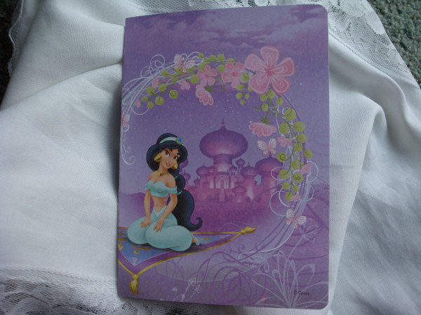 homemade princess party invitation