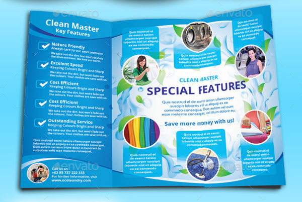 house cleaning service brochure
