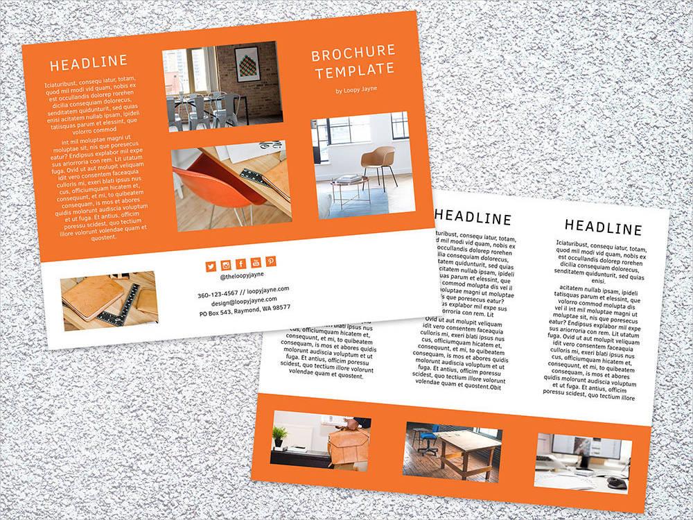 indesign digital brochure