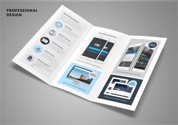 information digital brochure