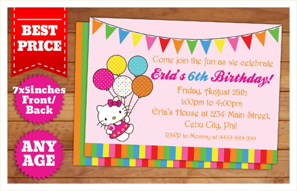 kitty party invitation wording