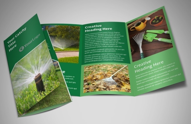 lawn service brochure