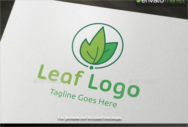 leaf logo company template