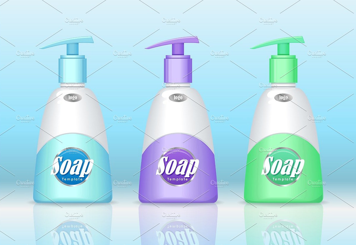 liquid soap packaging design