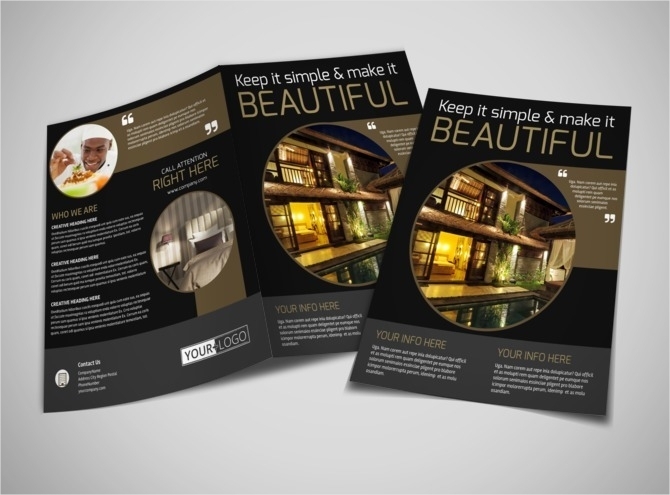 luxury hotel brochure1