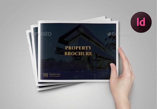 luxury property brochure template