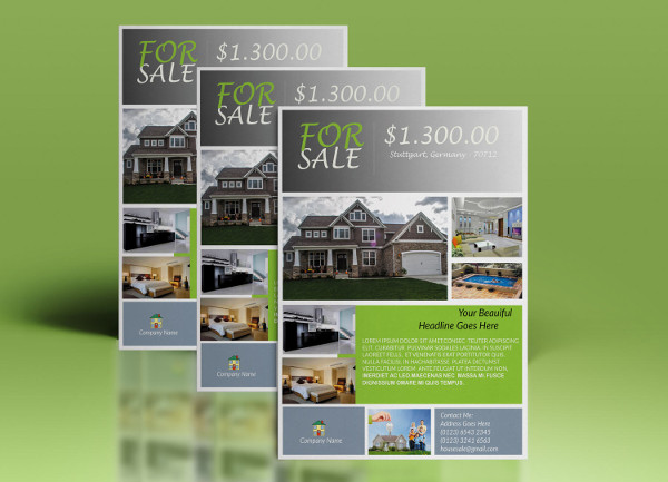 marketing real estate flyer