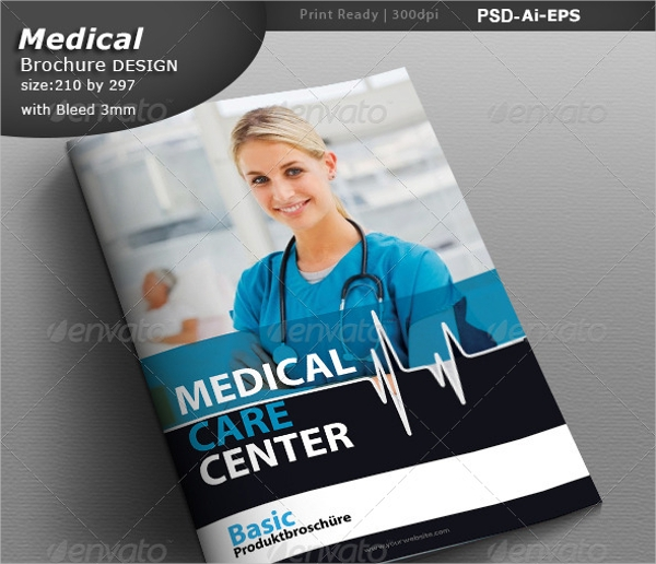 medical center brochure design