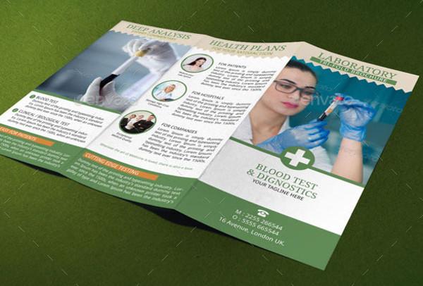 medical service tri fold brochure