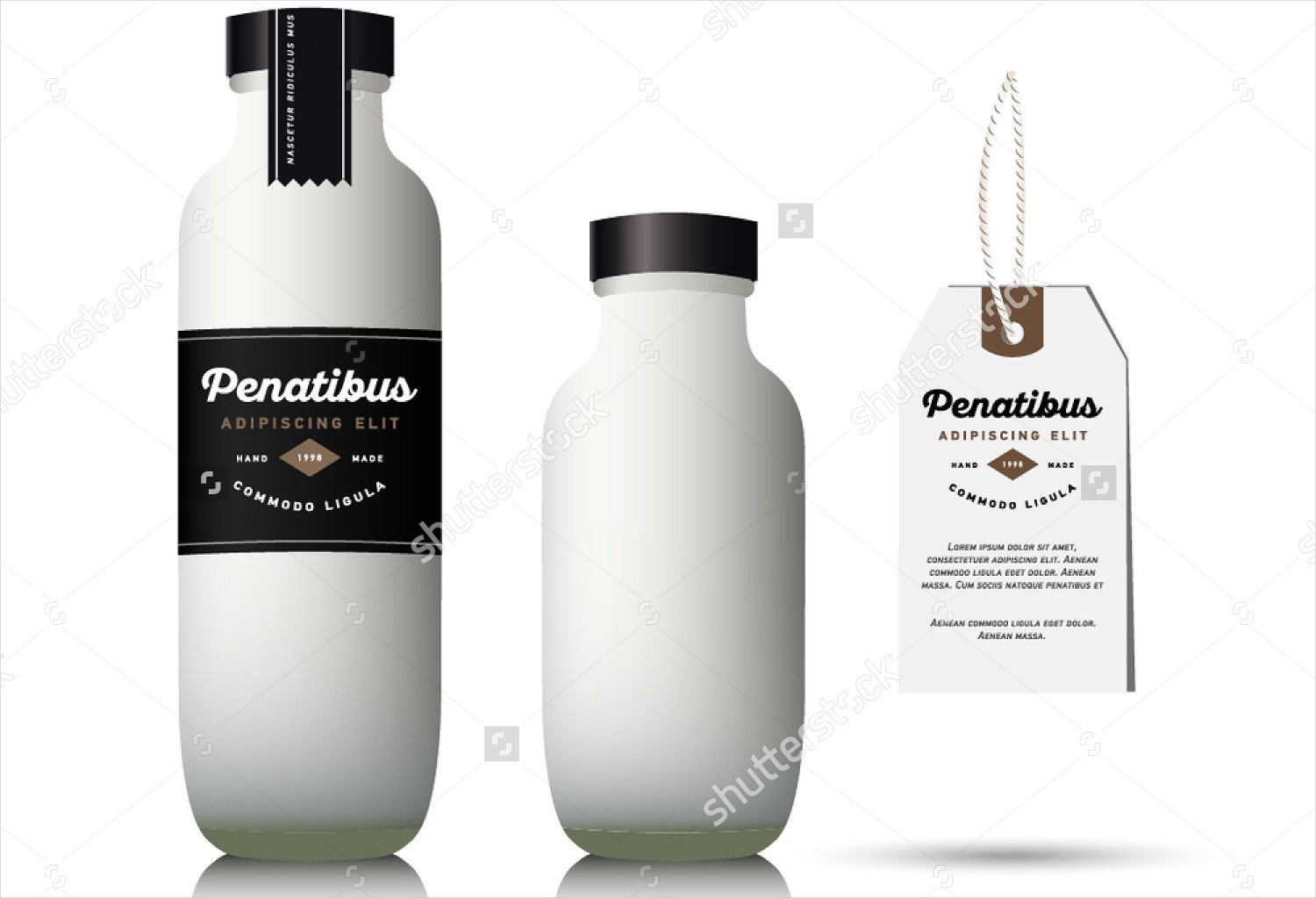 milk bottle packaging design
