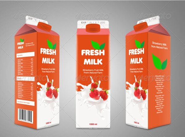 milk and beverage product