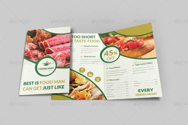 modern bi fold restaurant brochure1