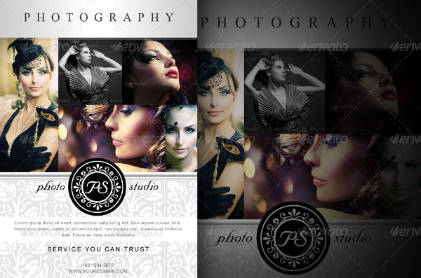 modern photography studio flyer1