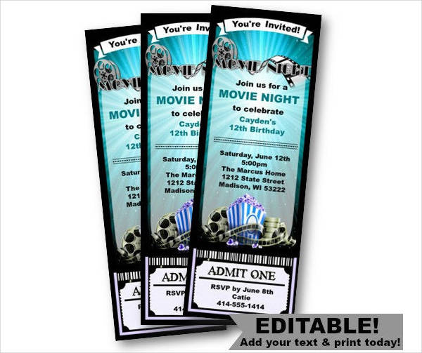 37 ticket templates download