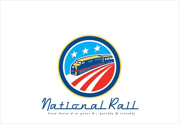 national american rail logo