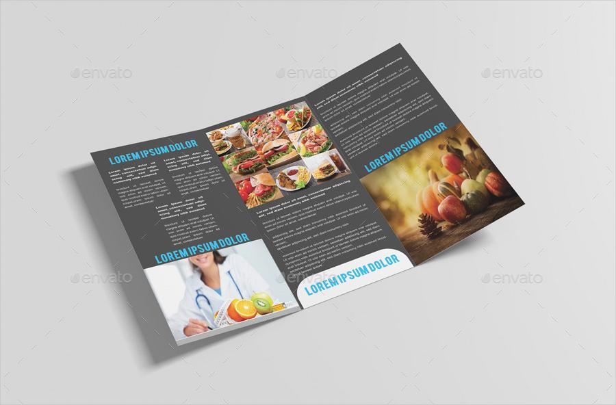 nutrition healthy food brochure