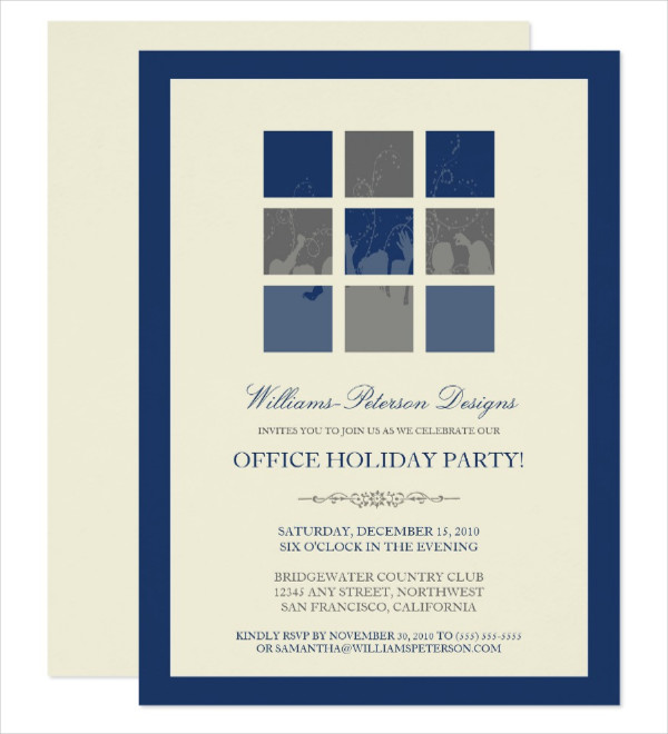 office holiday party invitation1