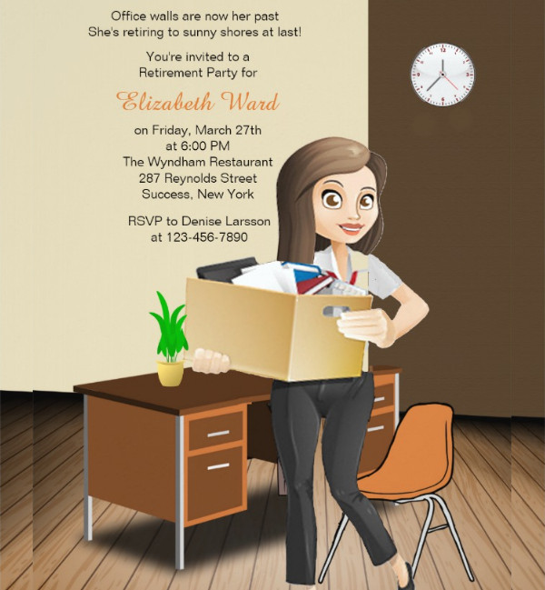 office retirement party invitation1