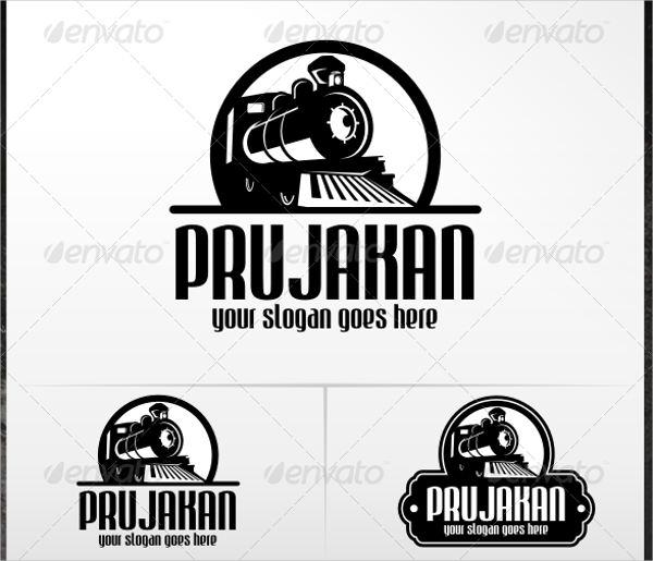 old train logo