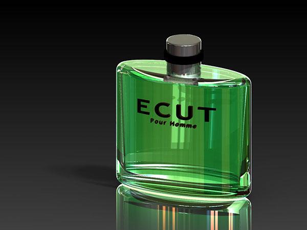 perfume bottle label