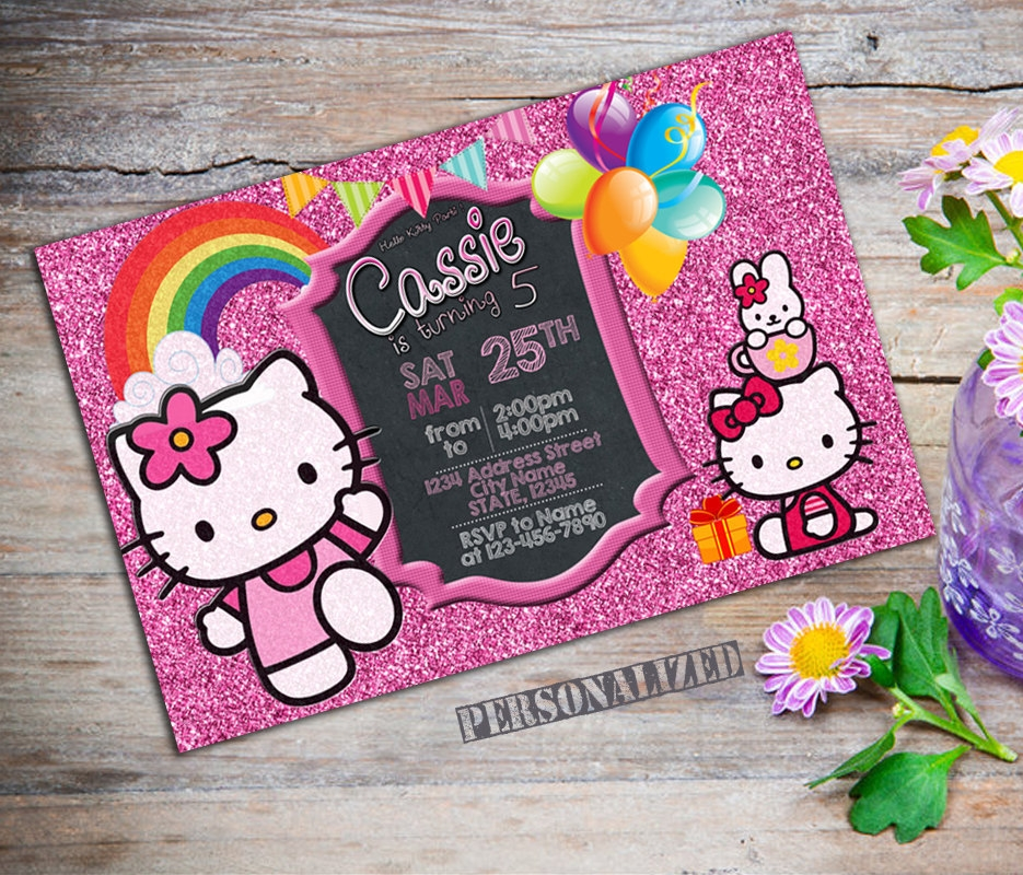 personalized kitty party invitation