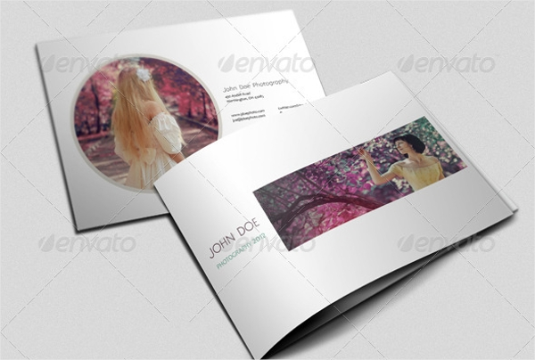 photographer portfolio brochure