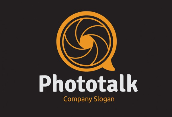 photography business logo free vector