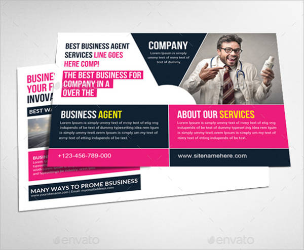 38 downloadable postcard templates business postcard template in psd cheaphphosting Image collections