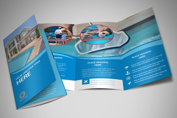 pool service brochure template