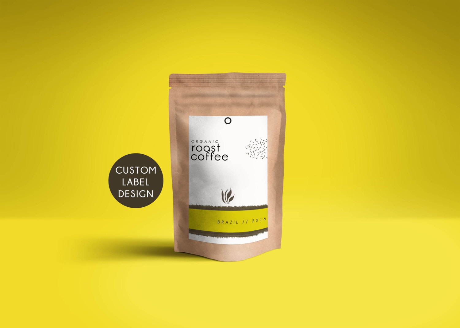 premium coffee packaging design