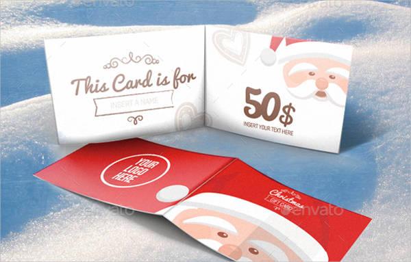 printable christmas gift card1