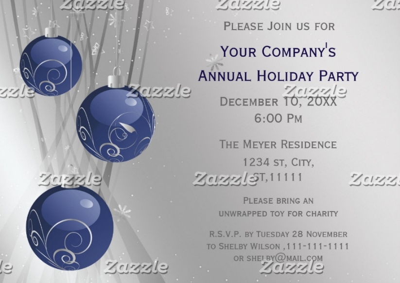 printable event invitation