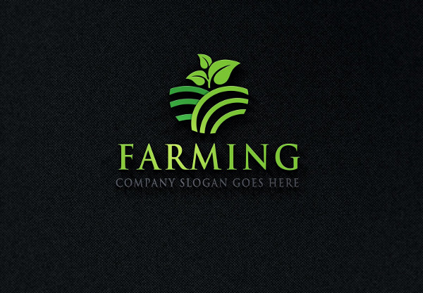 printable farming logo
