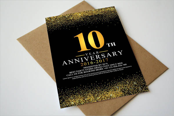 professional business anniversary card1