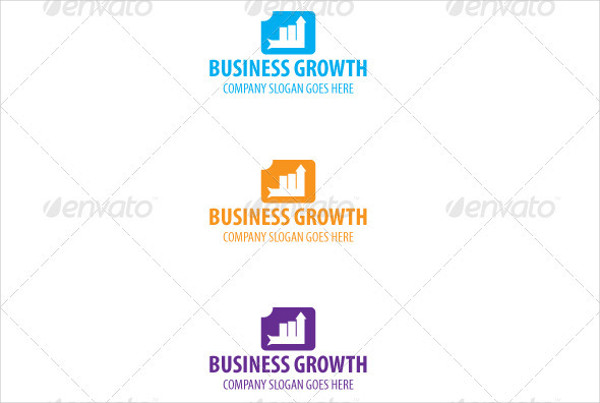 professional business growth logo