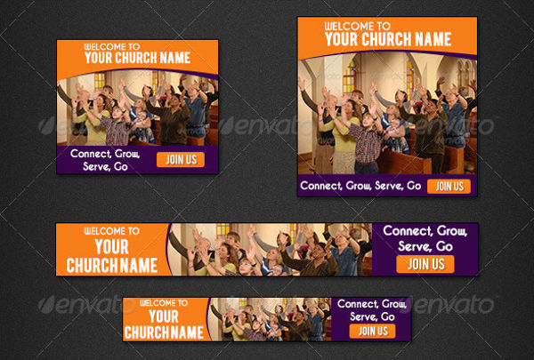 promotional church banner design